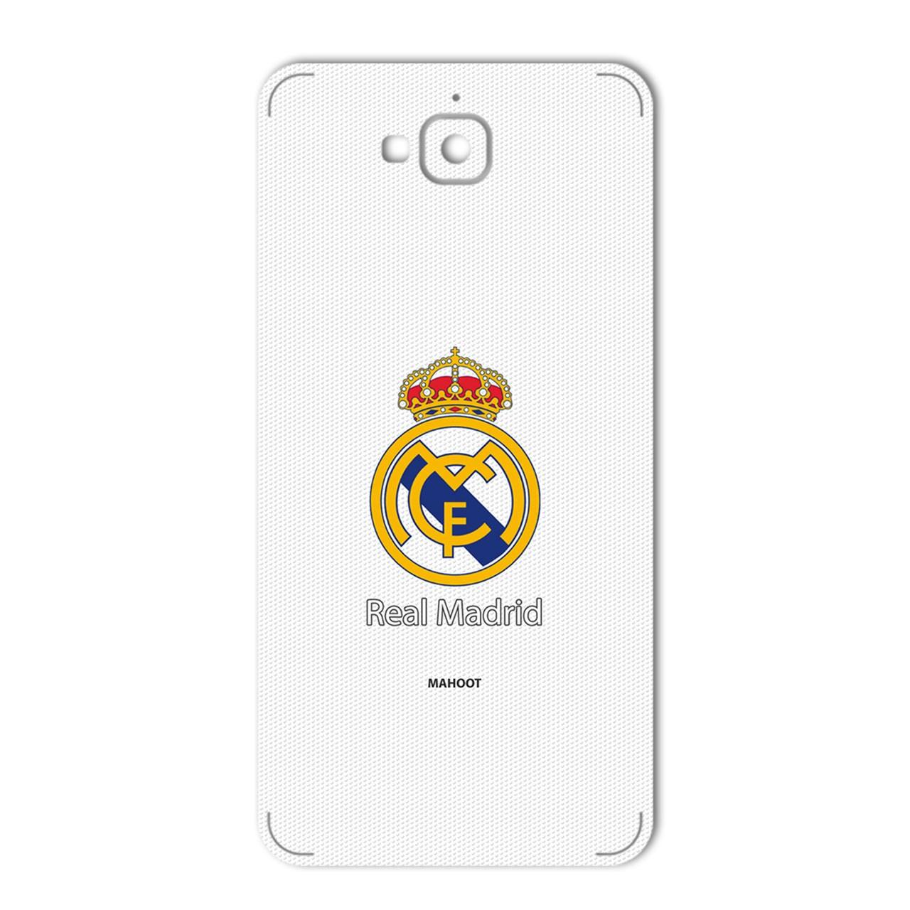 برچسب پوششی ماهوت مدل REAL MADRID Design مناسب برای گوشی  Huawei Y6 Pro