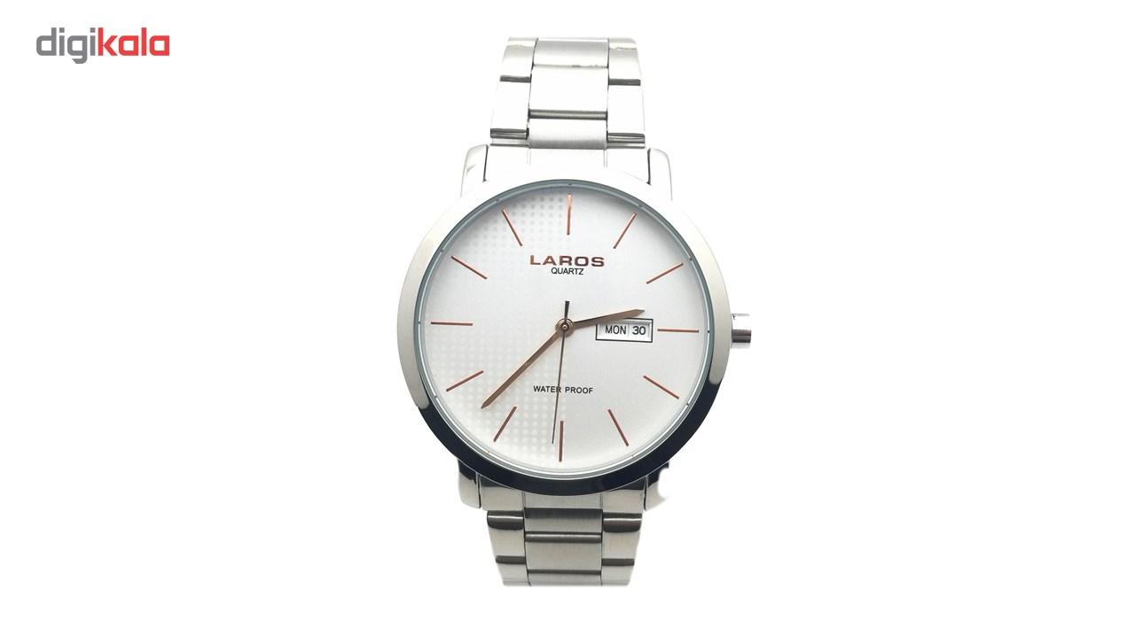 خرید ساعت مچی عقربه ای مردانه لاروس مدل LM-N605-Rose