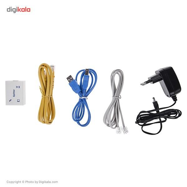 مودم روتر  ADSL2 Plus باسیم دی-لینک مدل DSL-2520U