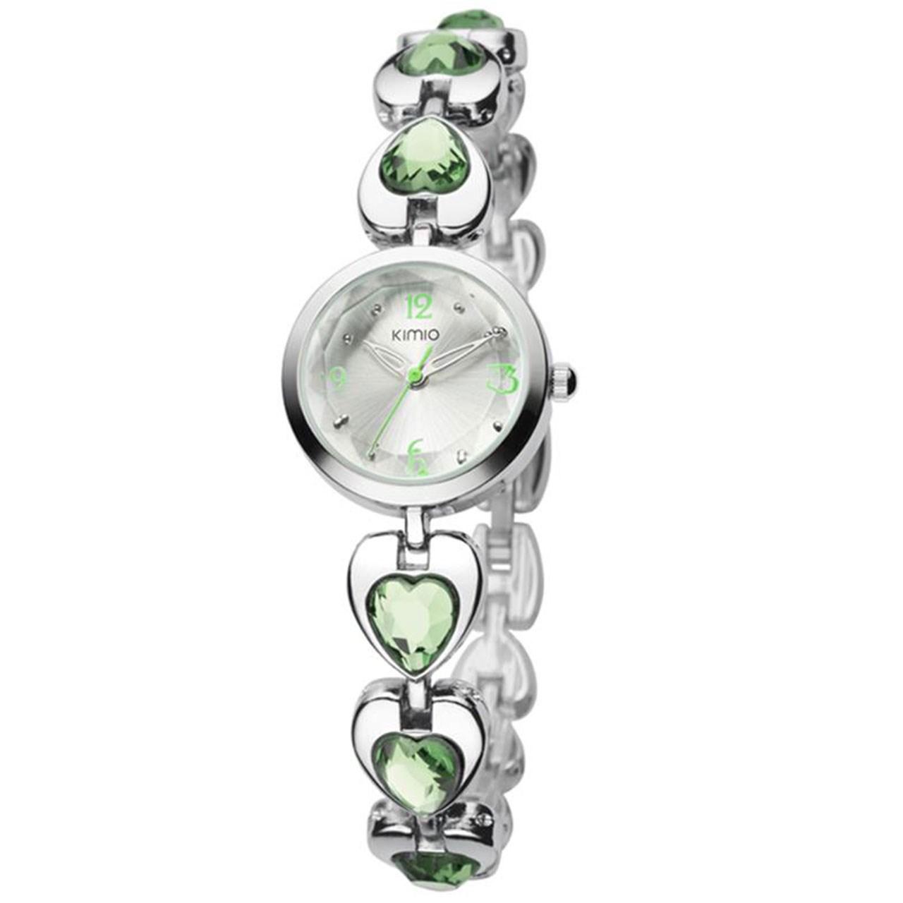 ساعت مچی عقربه ای زنانه کیمیو مدل K481L-Green