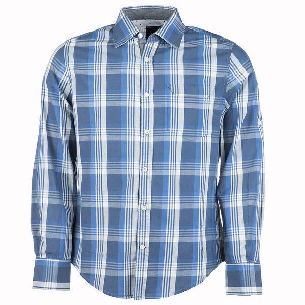 پیراهن مردانه نخی ونیز طرح 1