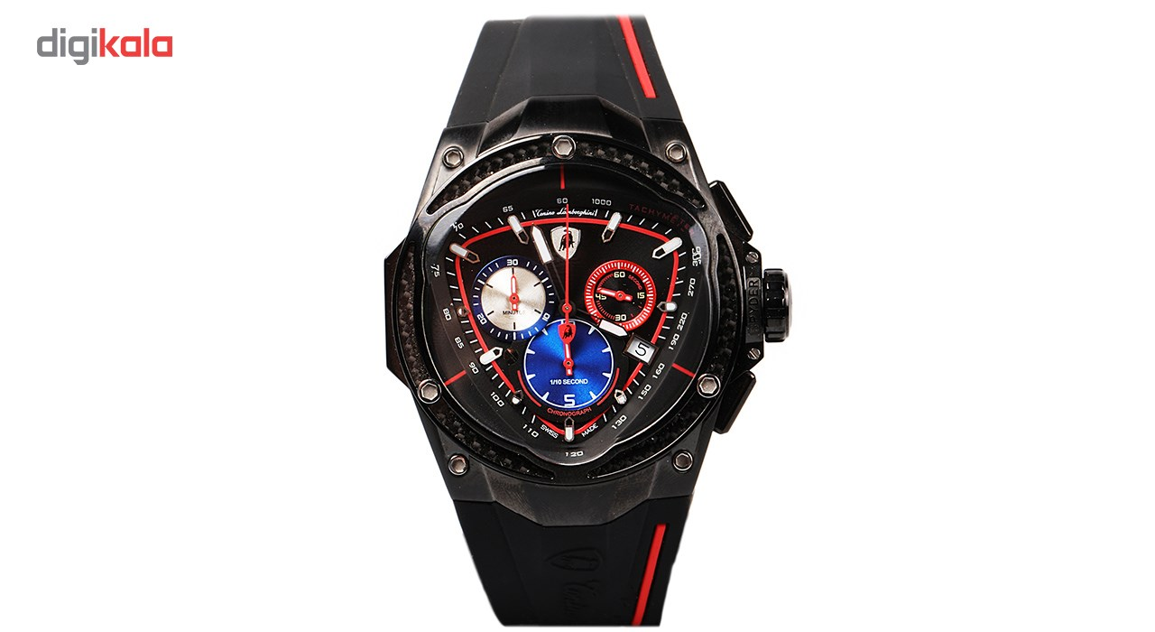 خرید ساعت مچی عقربه ای مردانه تونینو لامبورگینی مدل TL-RED LINE 08 | ساعت مچی