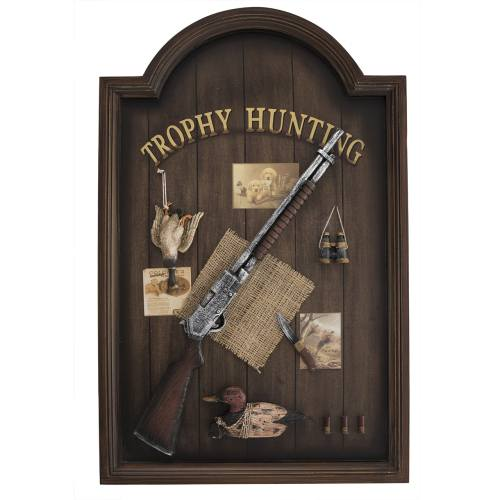 تابلو طرح تفنگ و شکار مدل DP241