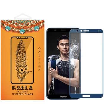 محافظ صفحه نمایش شیشه ای کوالا مدل Full Glue مناسب برای گوشی موبایل هوآوی Honor 7X