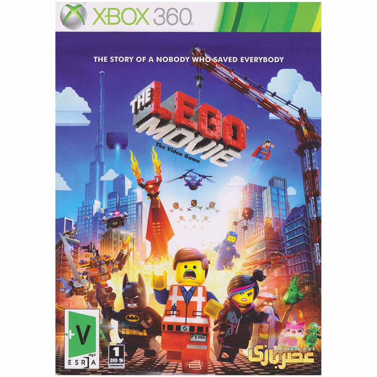 بازی Lego The Movie مخصوص ایکس باکس 360
