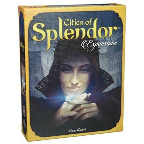 افزونه بازی اسپیس کابویز مدل Cities of Splendor