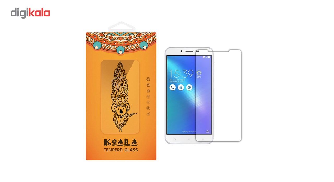 محافظ صفحه نمایش شیشه ای کوالا مدل Tempered مناسب برای گوشی موبایل ایسوس Zenfone 3 Max ZC553KL              ( قیمت و خرید)