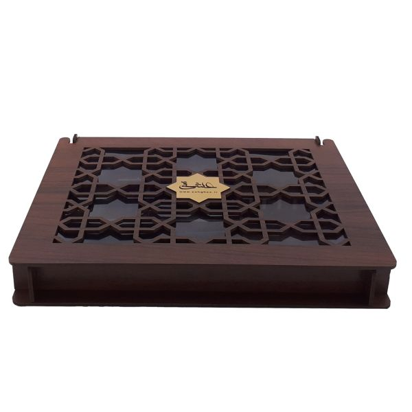 جعبه چای کیسه ای مدل تک درب نیایش