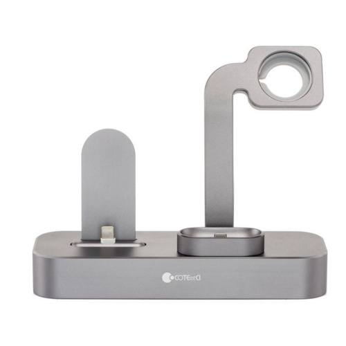 پایه شارژ Coteecti مدل 3in 1 مناسب برای آیفون و اپل واچ و ایر پاد