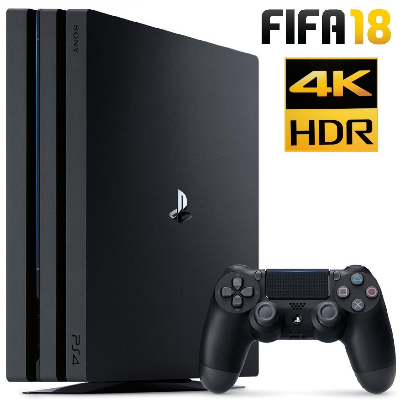 خرید مجموعه کنسول بازی سونی مدل Playstation 4 Pro ریجن 2 کد CUH-7116B ظرفیت 1 ترابایت