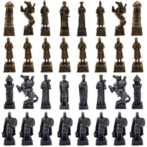 ست مهره شطرنج برتاریو مدل 9637