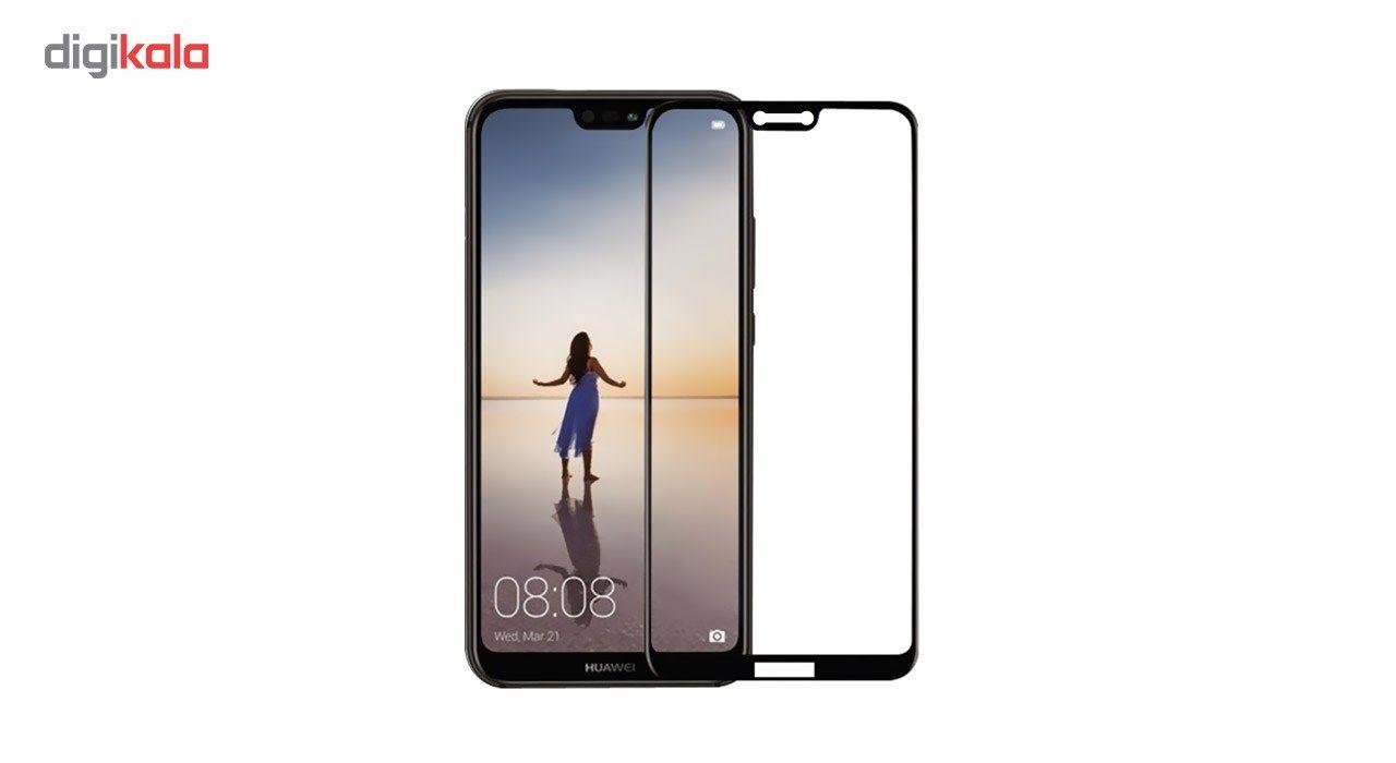 محافظ صفحه نمایش شیشه ای کوالا مدل Full Glue مناسب برای گوشی موبایل هوآوی Nova 3e main 1 1