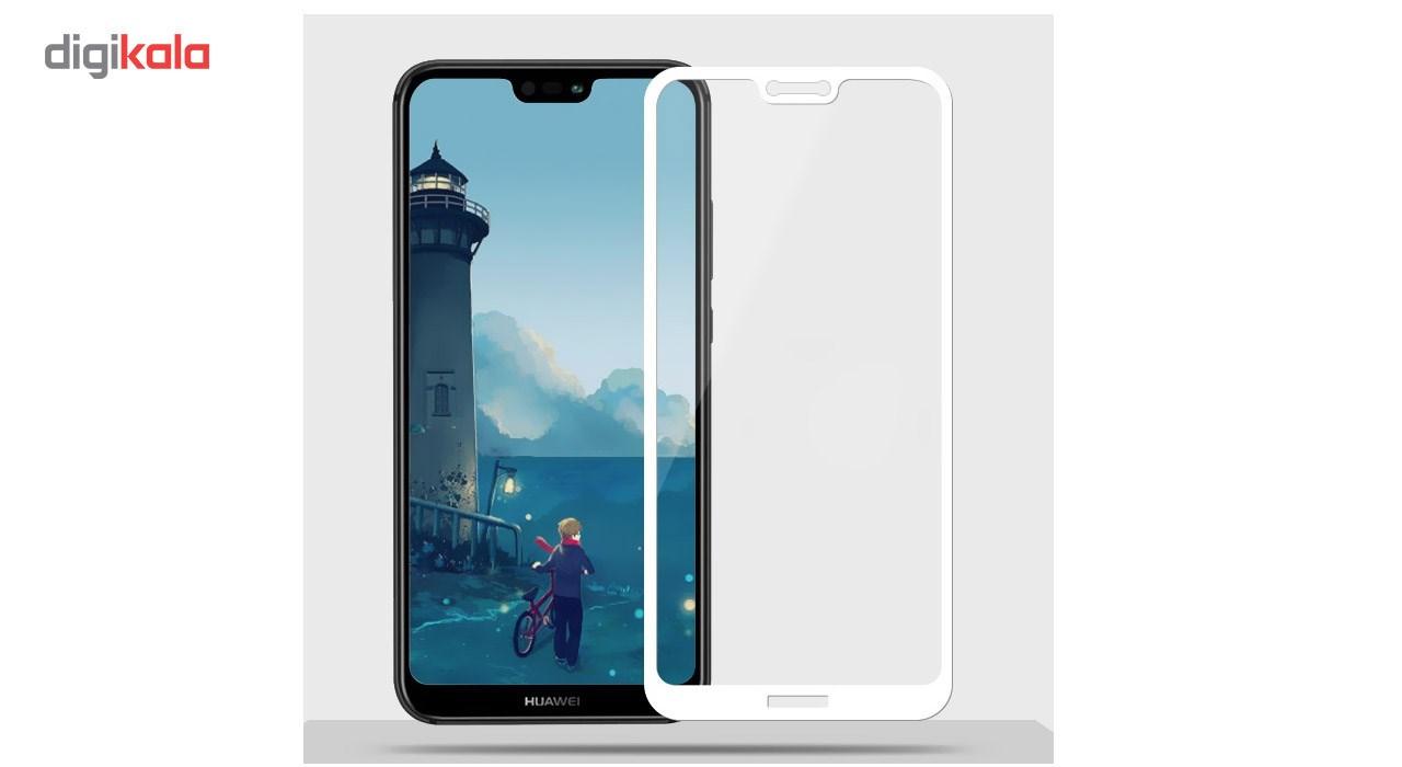محافظ صفحه نمایش شیشه ای کوالا مدل Full Glue مناسب برای گوشی موبایل هوآوی Nova 3e main 1 5