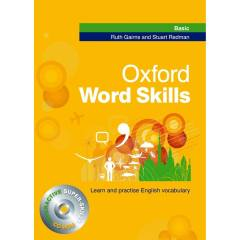 کتاب زبان Oxford Word skills Basic اثر Ruth Gairns