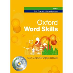 کتاب زبان Oxford Word skills Basic اثر Ruth Gairns
