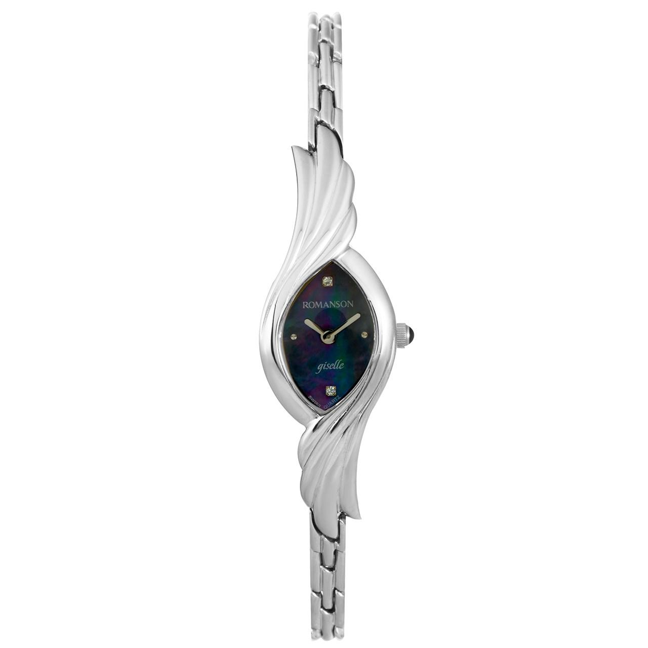 خرید ساعت مچی عقربه ای زنانه رومانسون مدل RM5125LL1WM32W