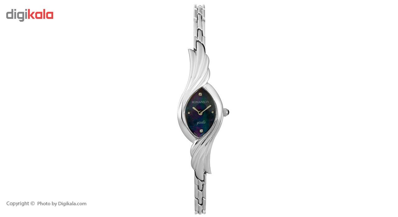 ساعت مچی عقربه ای زنانه رومانسون مدل RM5125LL1WM32W