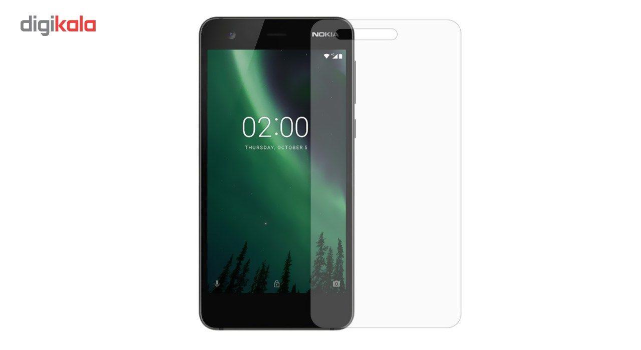 محافظ صفحه نمایش شیشه ای کوالا مدل Tempered مناسب برای گوشی موبایل نوکیا 2 main 1 2