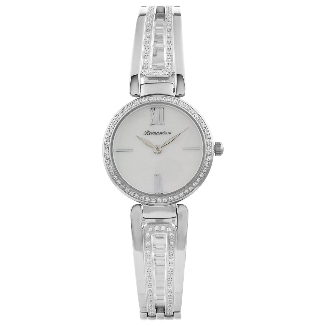 ساعت مچی عقربه ای زنانه رومانسون مدل RM7A02QLWWM1R1