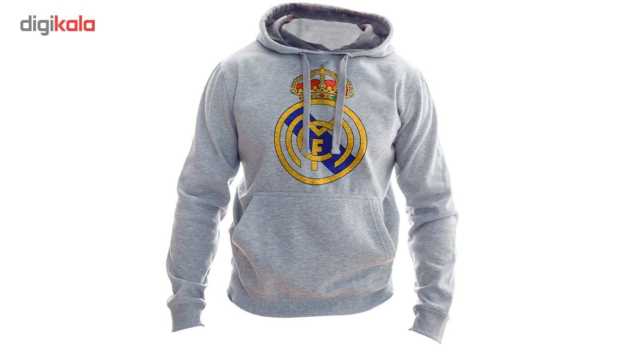 هودی مردانه  به رسم طرح رئال مادرید کد 115 main 1 1