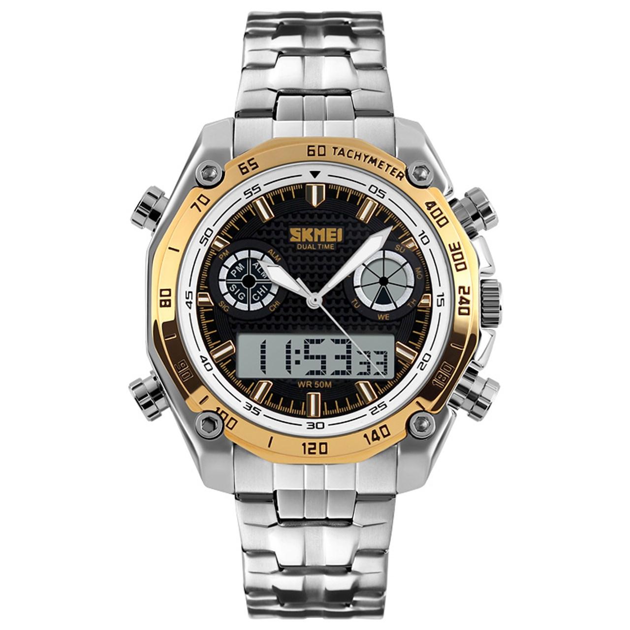 ساعت مچی دیجیتالی مردانه اسکمی مدل 1204-G