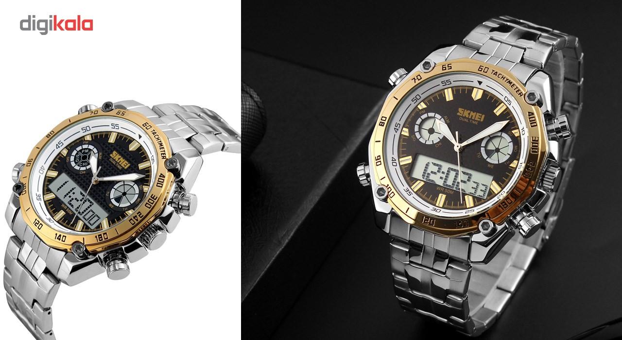 خرید ساعت مچی دیجیتالی مردانه اسکمی مدل 1204-G