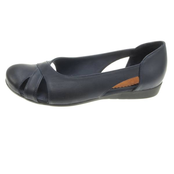 کفش چرم زنانه پانیسا مدل 222DB