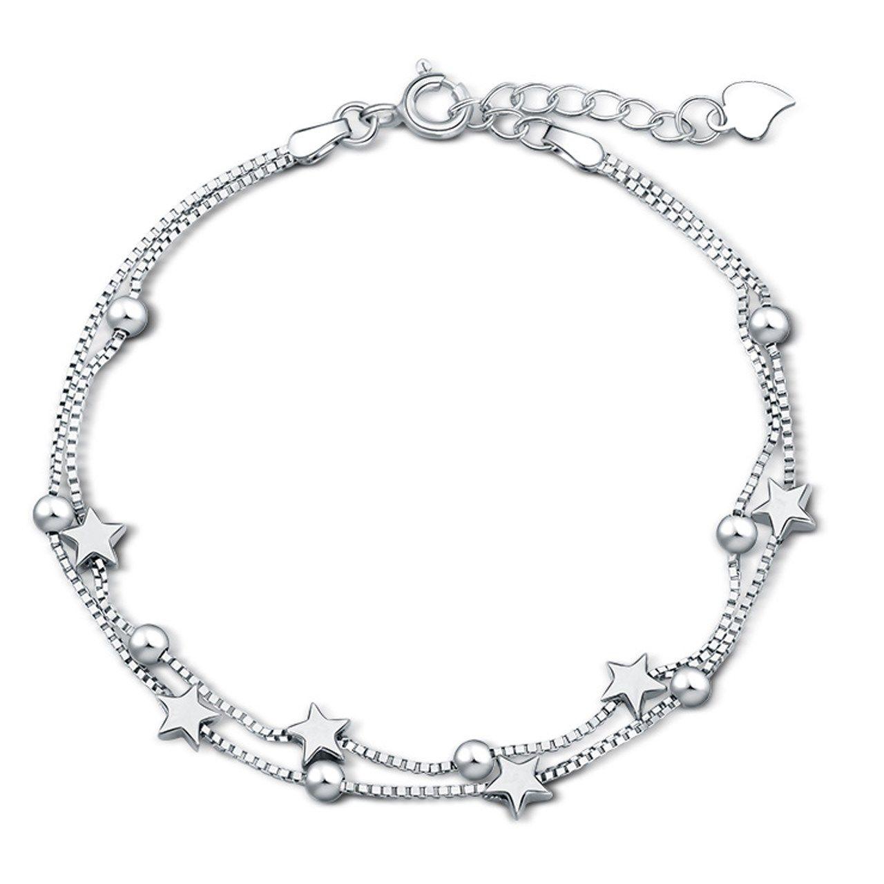 دستبند نقره شهر جواهر مدل SJ-BC023 -  - 2
