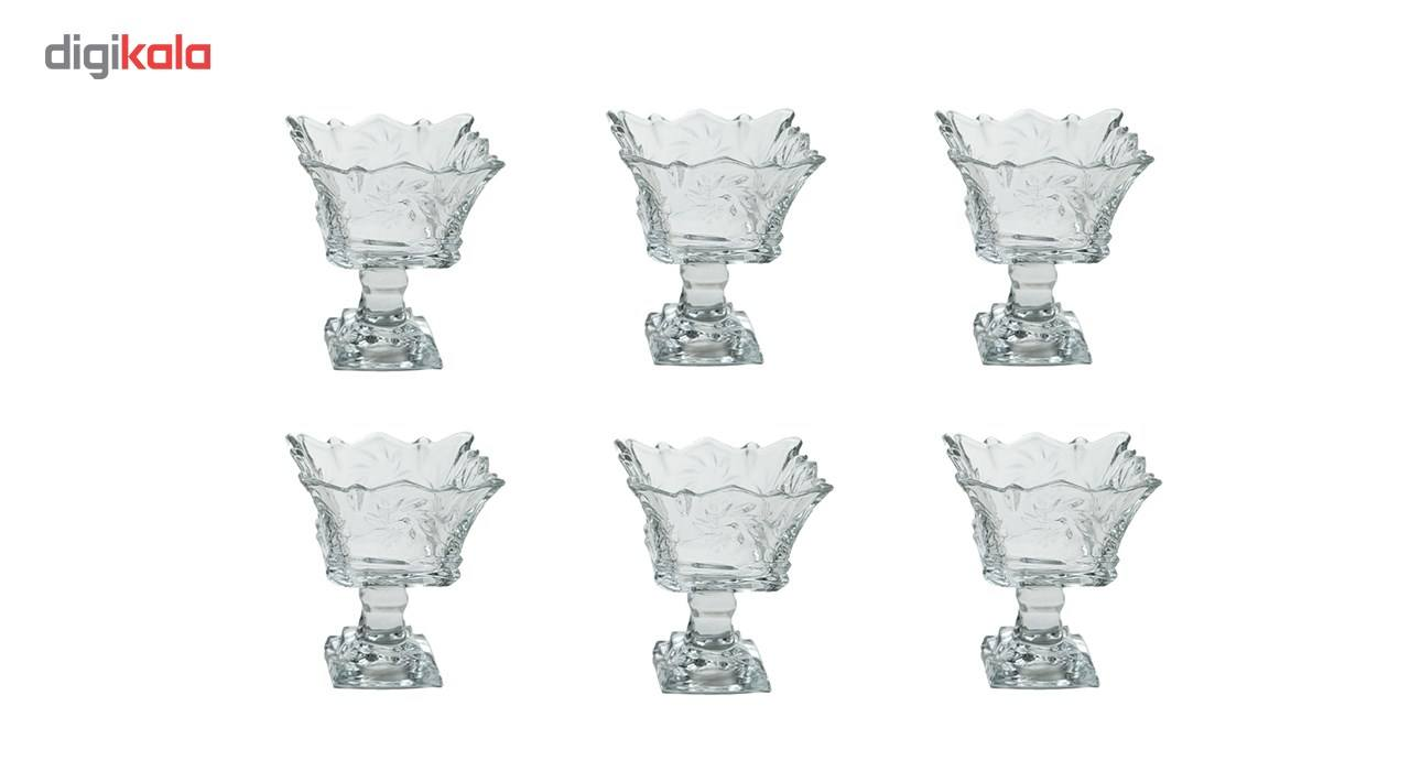 بستنی خوری بلور کاوه مدل Tandis بسته 6 عددی main 1 1