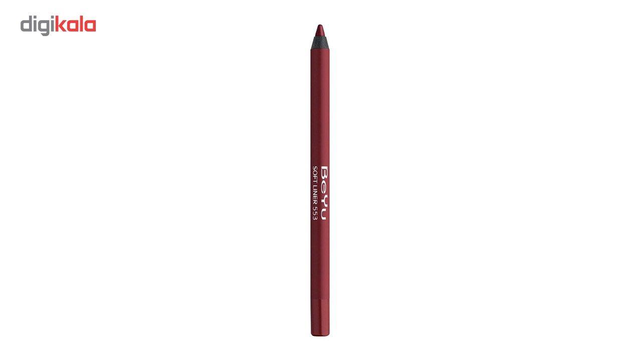 مداد لب بی یو سری Softline شماره 553 -  - 2
