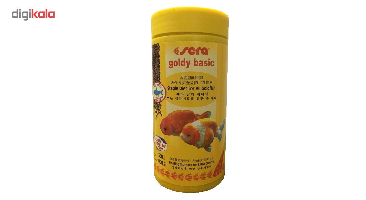 خرید                      غذای ماهی سرا مدل Goldy Basic وزن 300 گرم