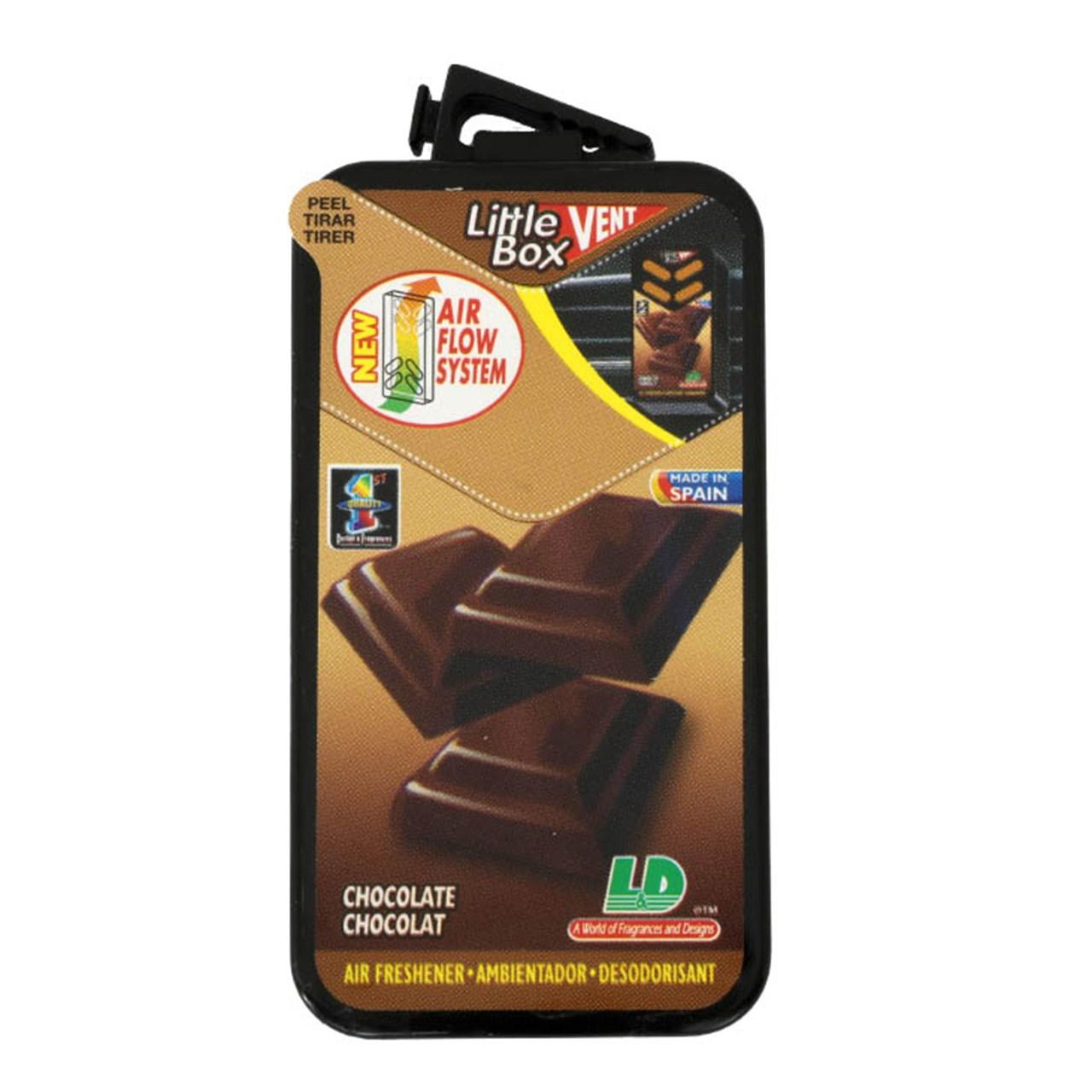 خوشبو کننده خودرو لیتل باکس مدل Chocolate