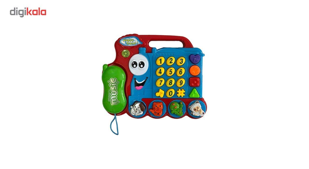 اسباب بازی آموزشی تویزلند مدل تلفن main 1 1