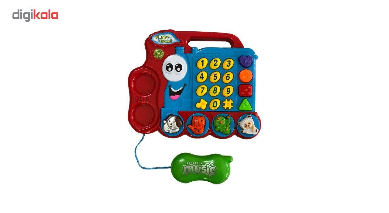 اسباب بازی آموزشی تویزلند مدل تلفن main 1 2