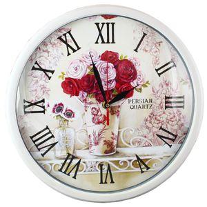 ساعت دیواری شیانچی طرح دسته گل کد 10010046