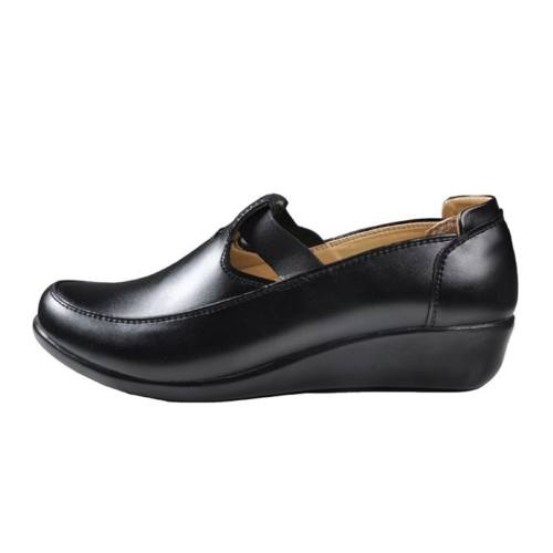 کفش چرم طبی زنانه آریوان مدل ARZ501M