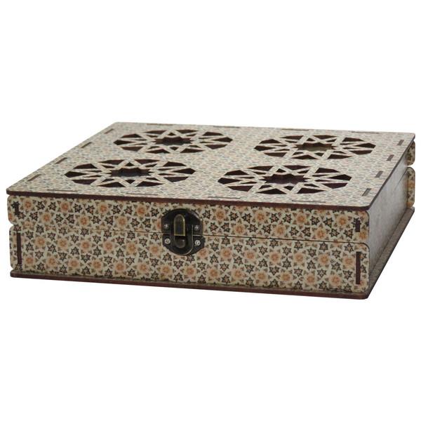 جعبه چای کیسه ای و پذیرایی لوکس باکس کد LB02