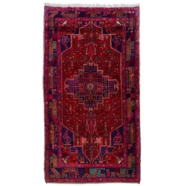 فرش دستبافت قدیمی چهار متری سی پرشیا کد 102204