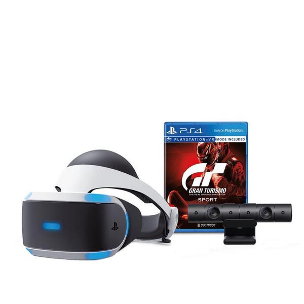 مجموعه عینک واقعیت مجازی سونی مدل PlayStation VR به همراه بازی Granturismo