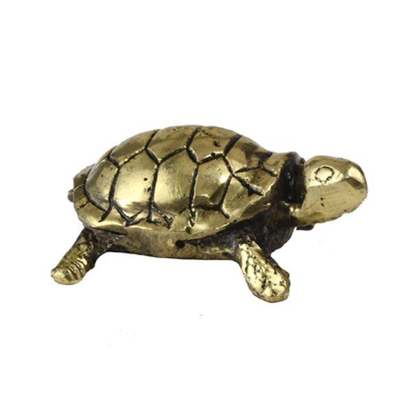 مجسمه برنزی طرح لاکپشت کد 020030044