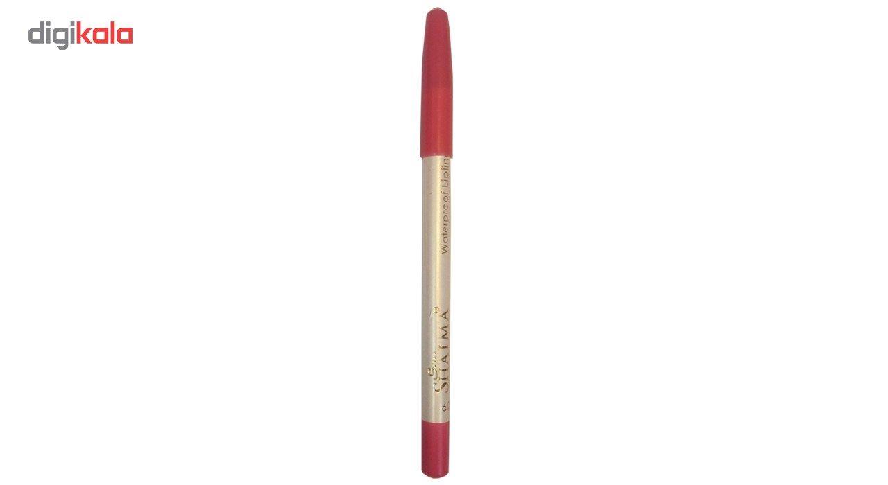 مداد لب شایما مدل Waterproof شماره 209 -  - 2