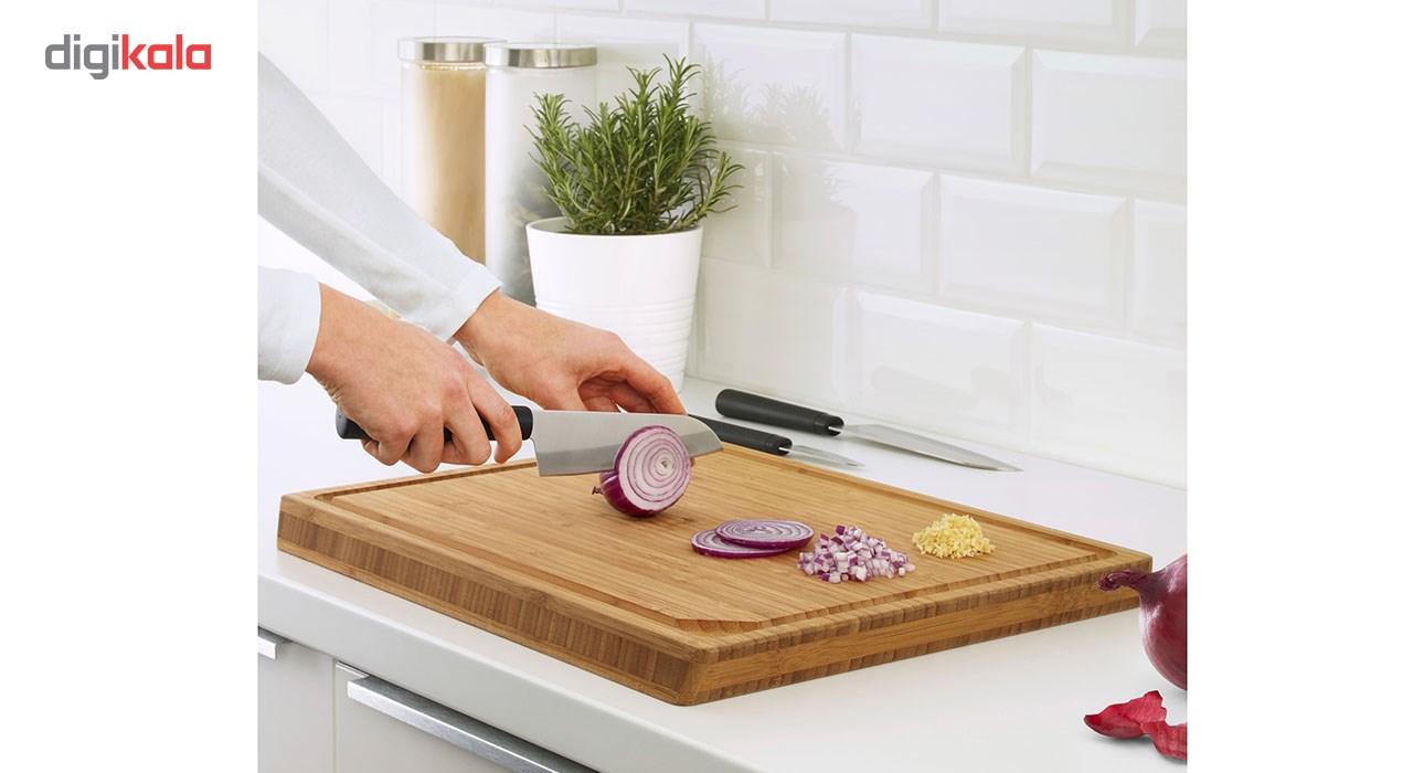 ست چاقو آشپزخانه 3 پارچه ایکیا مدل Forslag main 1 2
