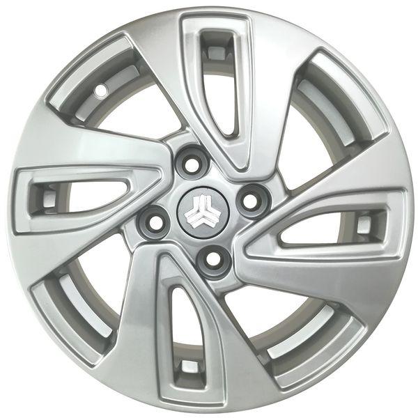 رینگ آلومینیومی چرخ مدل KW081 سایز 14 اینچ مناسب برای خودروی تیبا