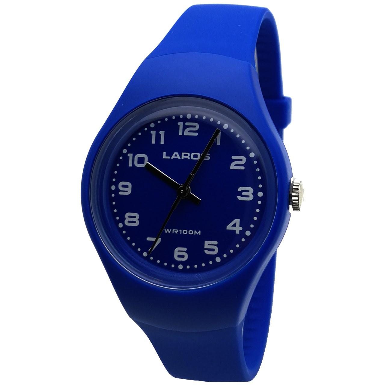 ساعت مچی عقربه ای لاروس مدل LC-A300-Blue