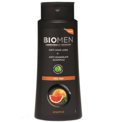 شامپو ضد ریزش و ضد شوره بیوتا مدل Biomen Oily hair حجم 400 میلی لیتر