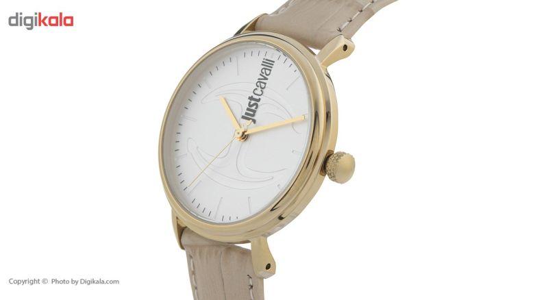 ساعت مچی عقربه ای زنانه جاست کاوالی مدل JC1L012L0035