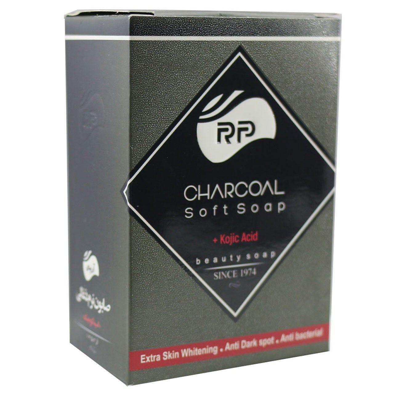 صابون نرم ذغال  آرپی مدل Charcoal مقدار 95 گرم -  - 1
