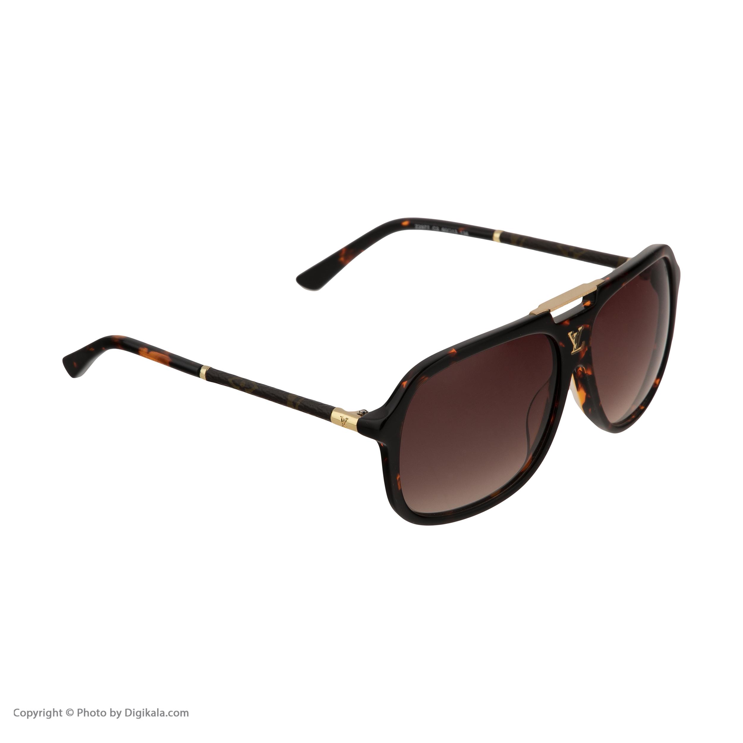 عینک آفتابی لویی ویتون مدل 2977 -  - 4