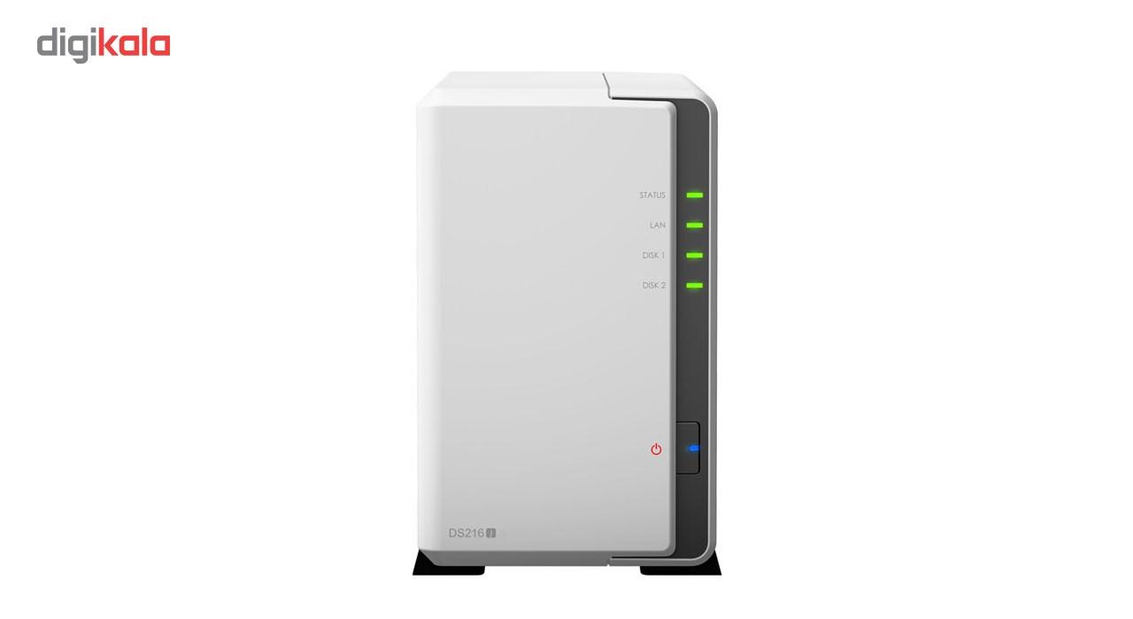 ذخیره ساز تحت شبکه 2Bay سینولوژی مدل دیسک استیشن DS216j