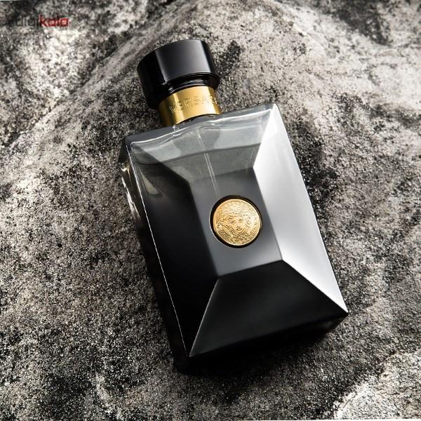 ادو پرفیوم مردانه ورساچه مدل Pour Homme Oud Noir حجم 100 میلی لیتر